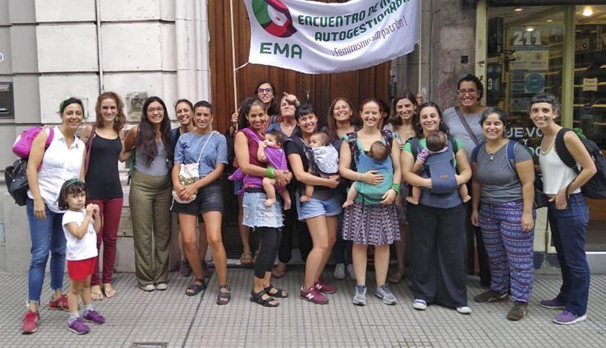 Movilización junto a Encuentro de Mujeres Autogestionadas - Fundación La Base